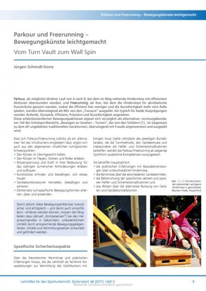 Parkour und Freerunning – Bewegungskünste leichtgemacht - Vom Turn Vault zum Wall Spin